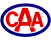 red and blue color caa thumbnail size logo